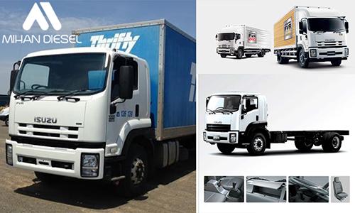 مشخصات فنی کامیون 18 تن ایسوزو