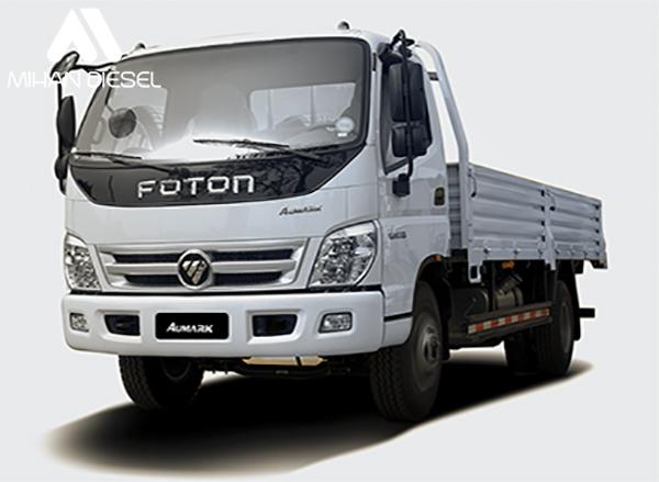 مشخصات فنی کامیونت 6 تن فوتون