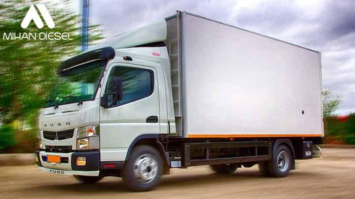مشخصات فنی کامیونت 6 تن فوسو