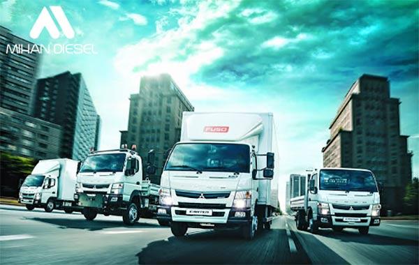 مشخصات فنی کامیونت 8.5 تن فوسو