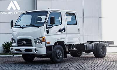 مشخصات فنی کامیونت 6 تن هیوندای
