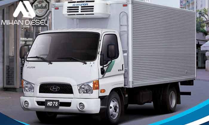 ویژگی های کامیونت 8 تن هیوندای