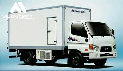 تجهیزات کامیونت 8 تن هیوندای