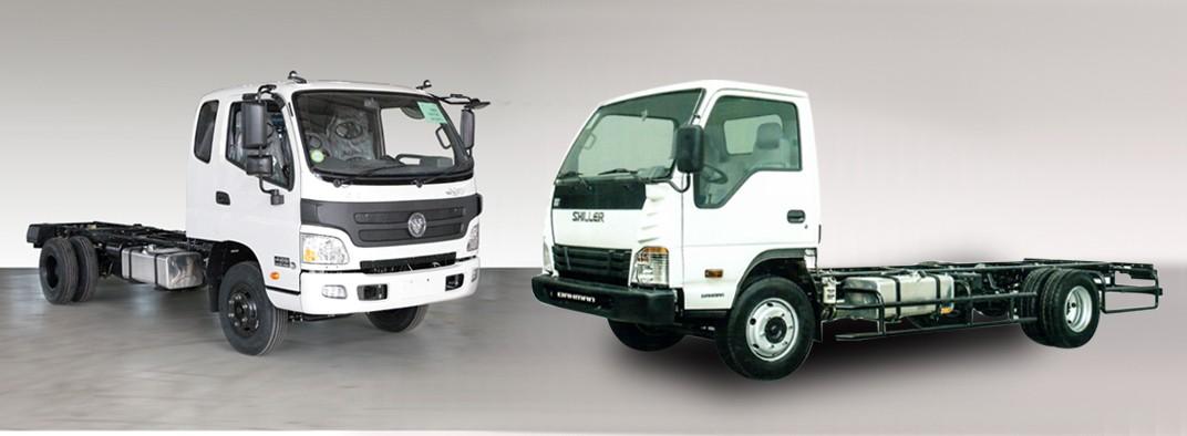مقایسه کامیونت الوند و شیلر