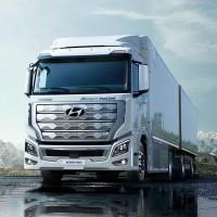 معرفی کامیون هیوندای xcient با سلول سوختی
